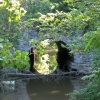 21 Beautiful stone culvert underneath canal prism