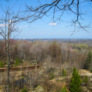 View from Gildersleeve Mountain
