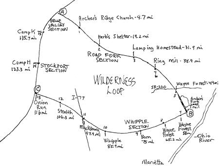 Wilderness Loop Map
