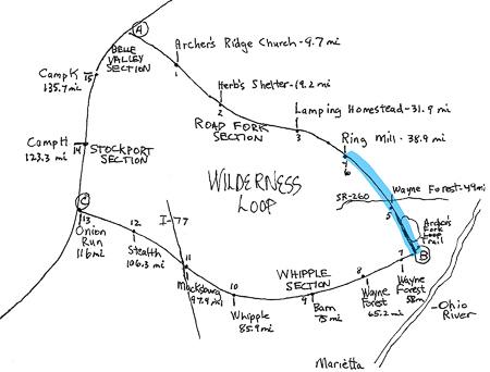 Wilderness Loop Map 4