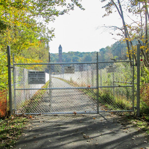 Trail closure on Day 2