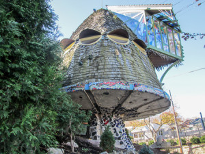 Mushroom house in Hyde Park