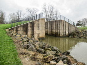 Reconstructed Lock 14 of the Miami and Erie Canal