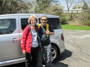 144.8 miles in 11 days---CHECK!