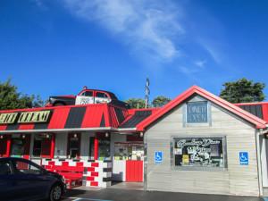 Speedtrap Diner in Woodville
