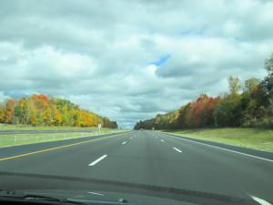 Enjoying fall along I-71