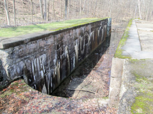 Deep Lock, the deepest on the Ohio & Erie Canal