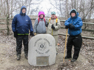 The northernmost point of the Buckeye Trail